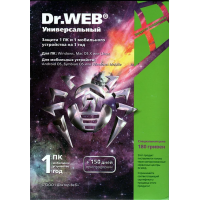 Антивирус DrWeb Security Space 1ПК 1 Год